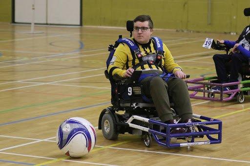 Power Chair. Fútbol adaptado