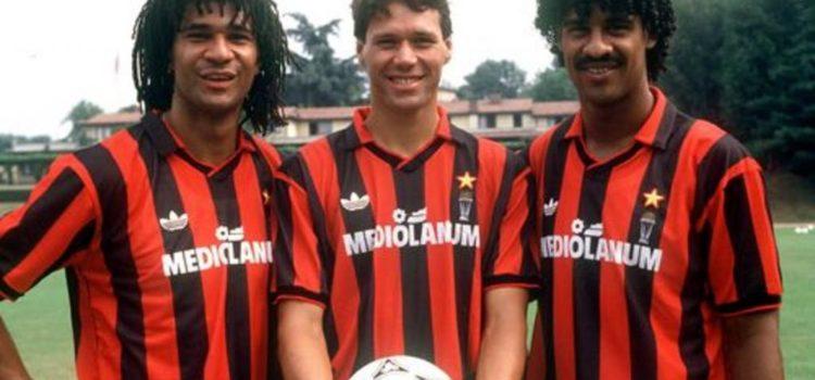 Vab Basten Rijkaard Gullit AC Milan