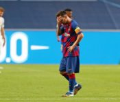 Messi tras la derrota 2-8 frente al bayern