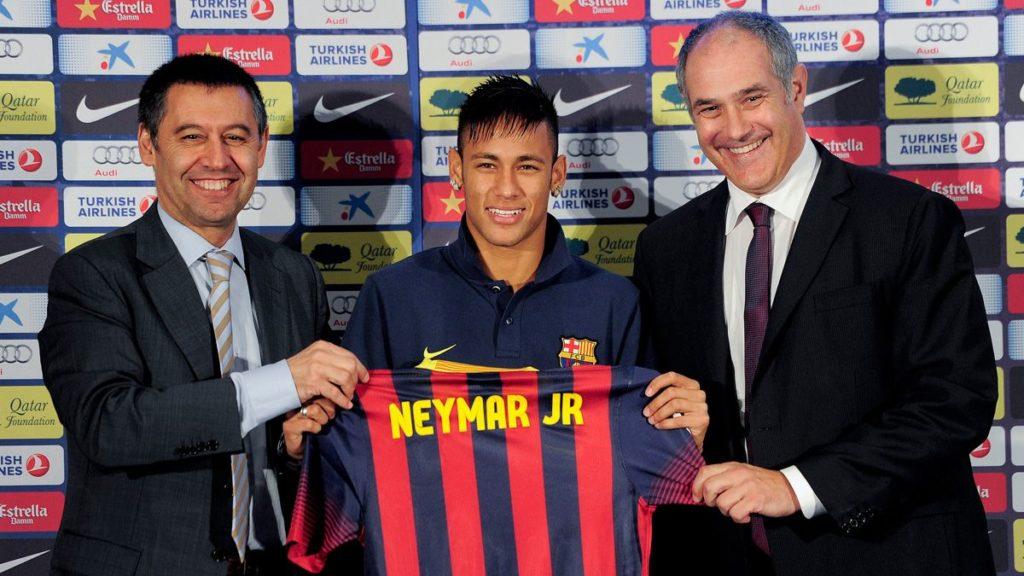Apoteosis Neymar en la presentación del brasileño como nuevo jugador azulgrana.