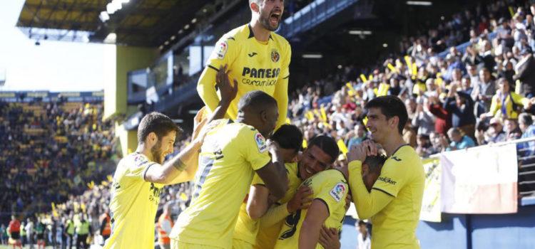 Villareal-CF-celebración-liga-santander