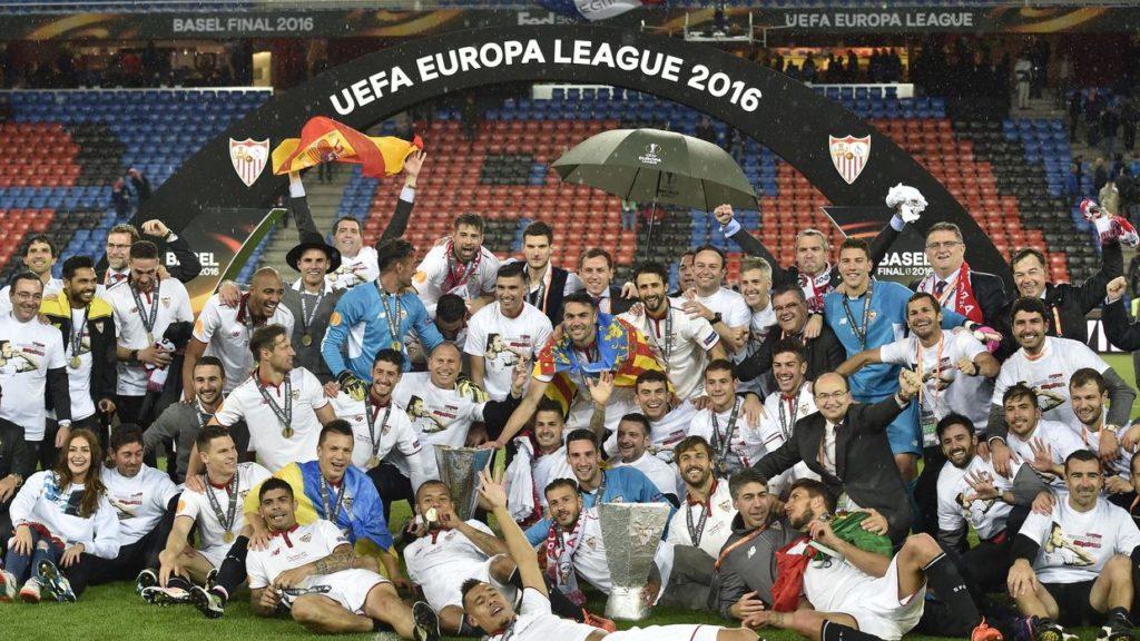 El Sevill FC consigue su quinta UEFA Europa League la temporada 2015/16.