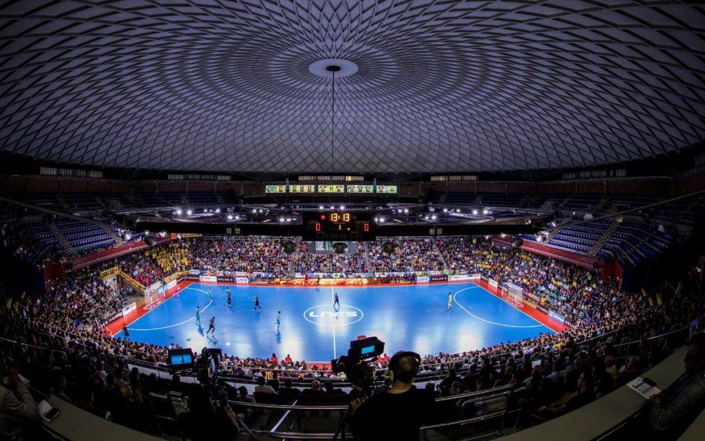 Palau blaugrana, nueva sede de la UEFA Futsal Champions League 2020.
