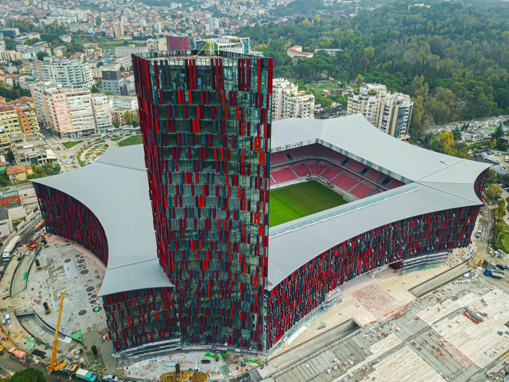 Air Albania Stadium, la sede de la primera final de la Uefa Conference League 2021/22.
