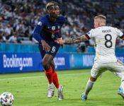 Paul Pogba generó el gol del triunfo de Francia ante Alemania. (Foto: Agencias).
